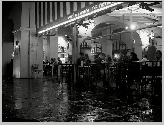 """Ghosts from the Café du Monde"" by Robert Klein Engler"