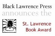 The St. Lawrence Book Award for a first collection of short stories or poems